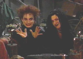 Chris Kattan hopes to revive the Goth Talk Craze by killing himself in front of all 3 Hell on Earth Fans