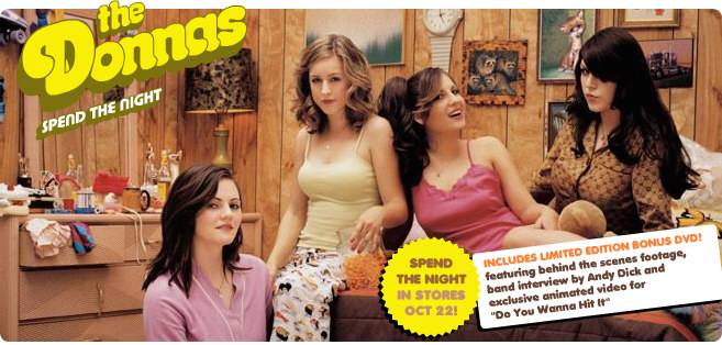 the donnas want YOU!
